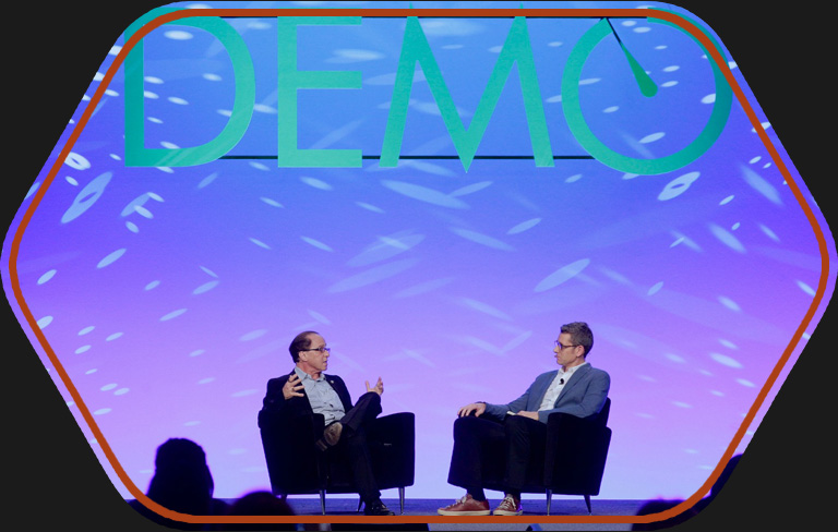 Demo Fall 2012 with Ray Kurzweil and Matt Marshall
